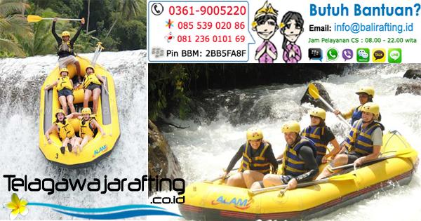 Harga Promo Telaga Waja Rafting Bali saat Lebaran 2015